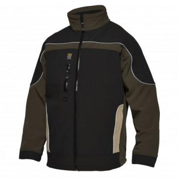0223-248 Three-colour softshell jacket