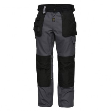 0335-765 Three-colour tradesman tool trousers with hanging pockets