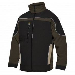 0223-248 Three-colour softshell jacket