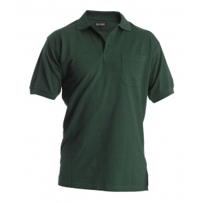 3251-133 Basic Polo Shirt With Breast Pocket