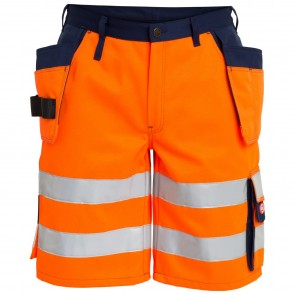 6502-770 EN 20471 Shorts With Hanging Tool Pockets